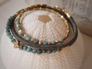 Bracelets couleur or